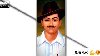 Shaheed Bhagat Singh Whatsapp Status Video Bhagat Singh Status